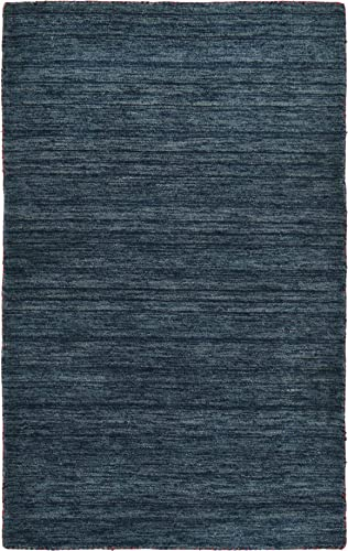Unique Loom 3125207 Area Rug, 3 3 x 5 3 Rectangle, Navy Blue