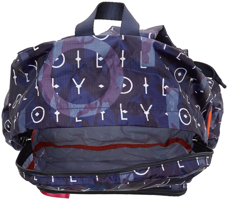 Oilily - Enjoy Backpack Lvz, Mochilas Mujer, Blau (Dark Blue), 13x40x30 cm (B x H T): Amazon.es: Zapatos y complementos