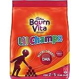 Cadbury Bournvita Little Champs Pro-Health Chocolate Health Drink, 500 gm Refill Pack