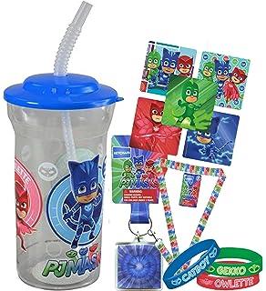 PJ Masks Inspired Kids Fun Sip Favor Cup Stocking Stuffer! Pre-Filled & Ready