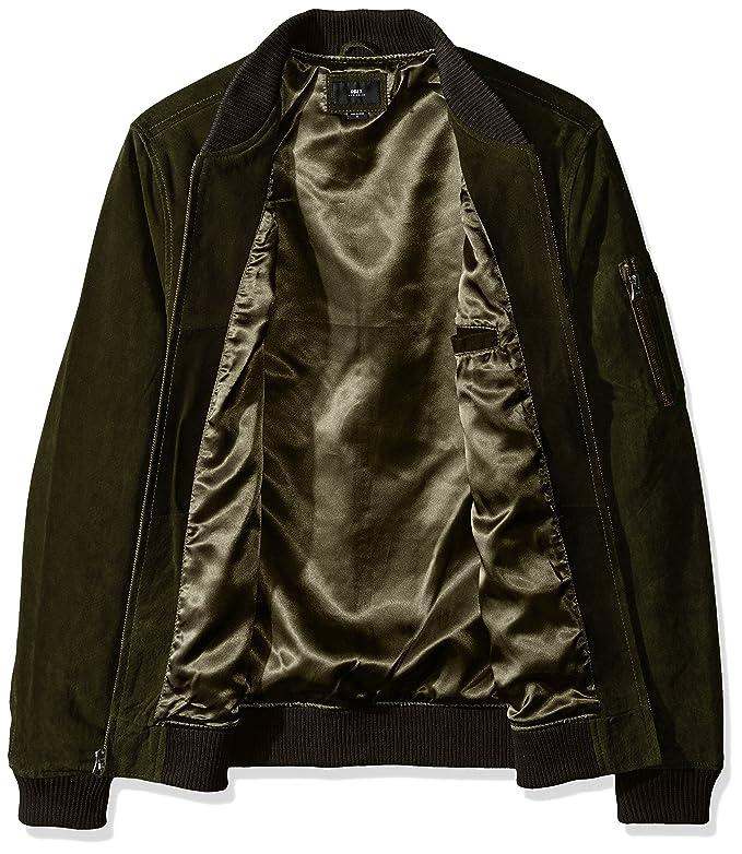 Chaqueta Obey Pilot Suede Jacket Army: Amazon.es: Ropa y ...