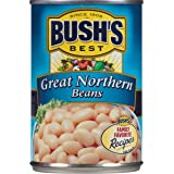 Bush's Best  Great Northern Beans, 15.8 oz (12 cans)