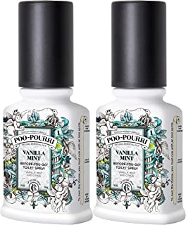 product image for Poo-Pourri Vanilla Mint Scent Odor Eliminator 2 oz. Liquid