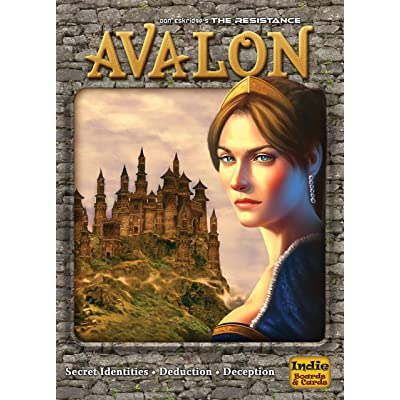 The Resistance: Avalon Social Deduction Game: Toys & Games