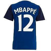 Equipe de FRANCE de football T-Shirt FFF - Kylian MBAPPE - Collection Officielle Taille Enfant
