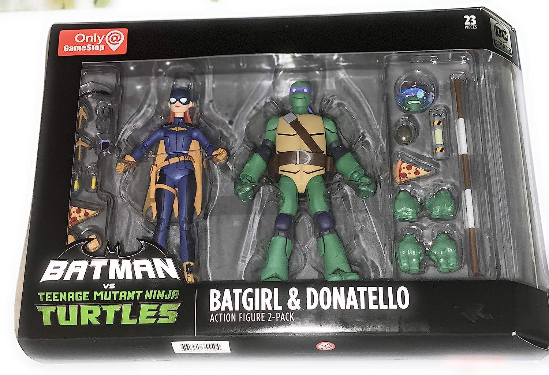 DC Collectibles Batman VS TMNT - Batgirl & Donatello