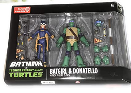 Amazon.com: DC Collectibles Batman VS TMNT - Batgirl ...