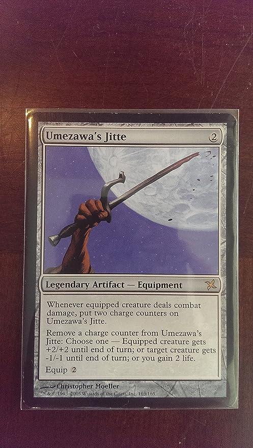 The Gathering Betrayers of Kamigawa Rare Magic Umezawa/'s Jitte x1 LP