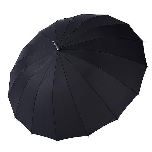 31 opinioni per Rainbrace Ombrello da Pioggia Antivento 152.4 cm Grande, Automatico, Manico