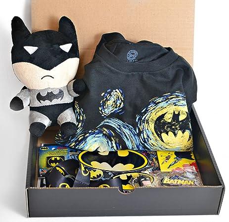 Amazon.com: BatmanPresents Deluxe Batman Gift Box: Kitchen & Dining