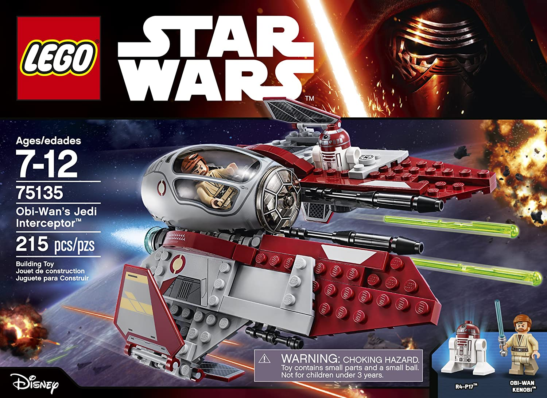 LEGO 75135 STAR WARS Obi-Wan/'s Jedi Interceptor Obi-Wan Kenobi Minifigure