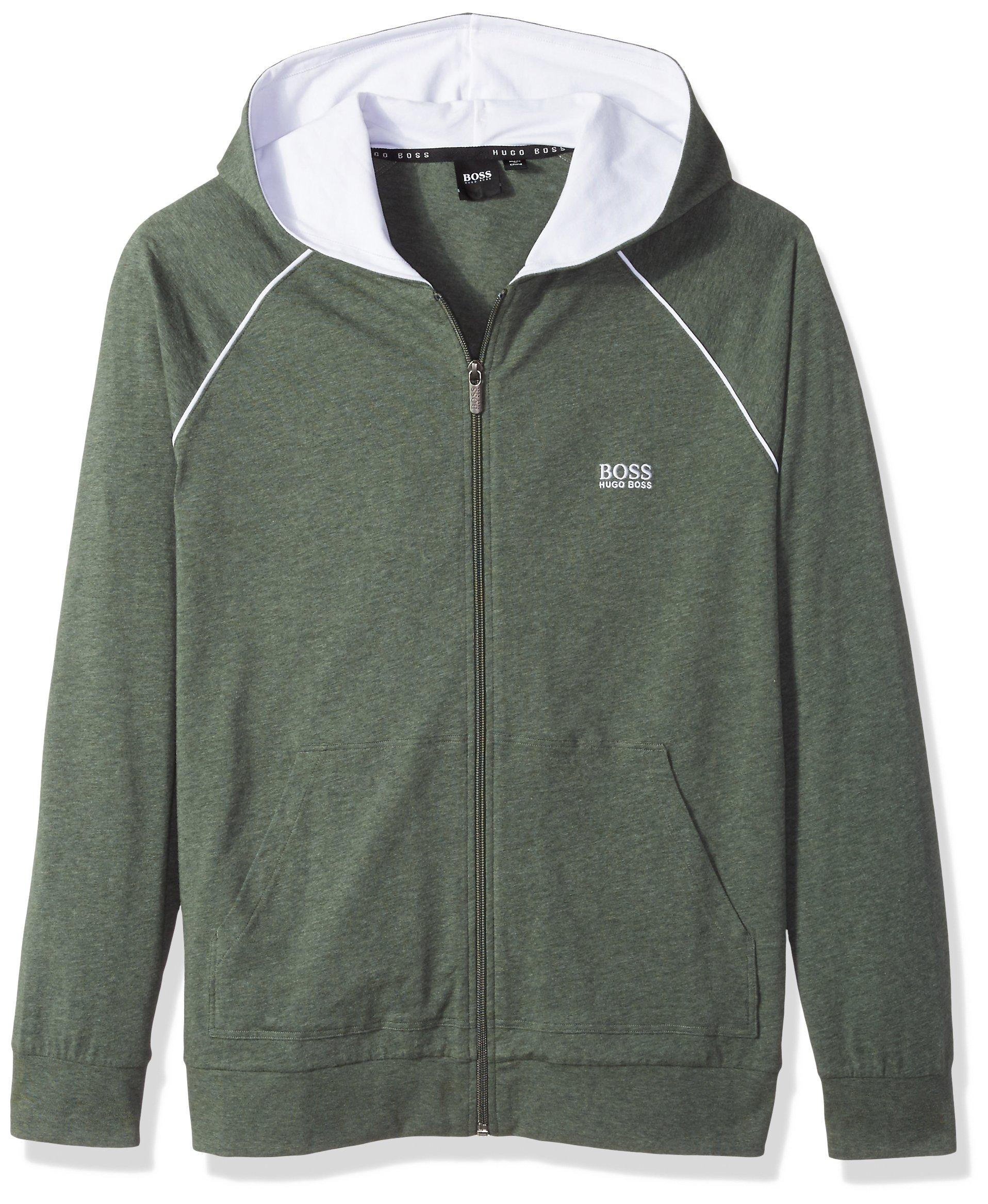 Hugo Boss Boss Men's Mix&Match Jacket H 10143871 02, Dark Green, L