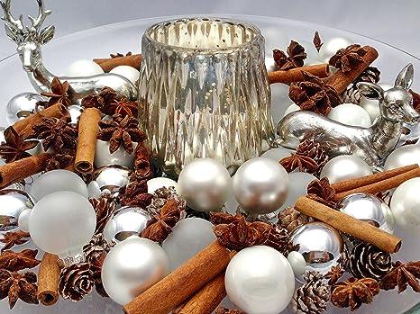 Deko Set Fur Schale Hirsch Hirschpaar Weihnachten Advent