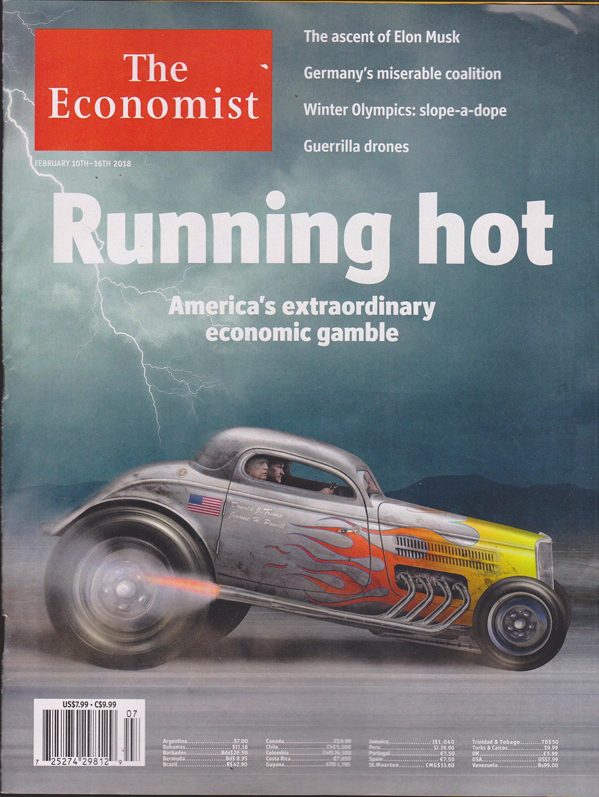 Download The Economist Magazine February 10TH-16TH 2018 pdf epub
