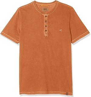 camel active Herren 12 Reverse CP T Shirt, Gelb (Yellow 60