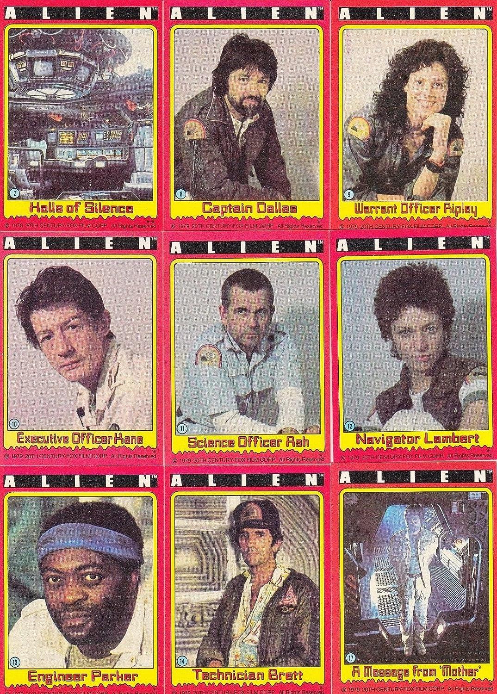 Alien Vintage Original Movie Complete 84 Trading Card Set 1979 TOPPS