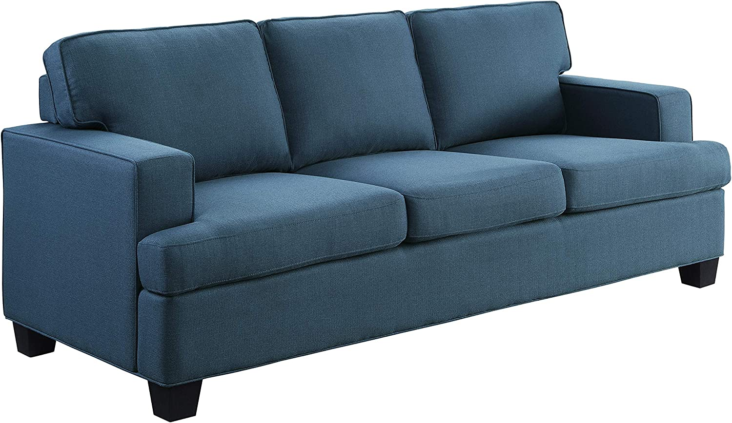 Lexicon Ashland Living Room Sofa, Blue