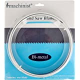 Imachinist S701314 70-1/2-inch By 1/2-inch By 14tpi Bi-metal Metal Cutting Band Saw Blades