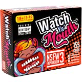 Watch Ya' Mouth NSFW (Adult) Expansion #3 Card Game Pack, for All Mouth Guard Games