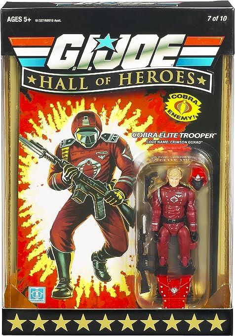 Crimson Guard-Cobra Elite Trooper G.I JOE Hall of Heroes