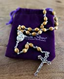 Nazareth Store Catholic Prayer Rosary Olive Wood