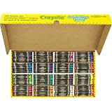 Crayola 52-1617 Class Pack Crayola Construction Paper Crayons, 25 ea. of 16 Colors, 400/Set