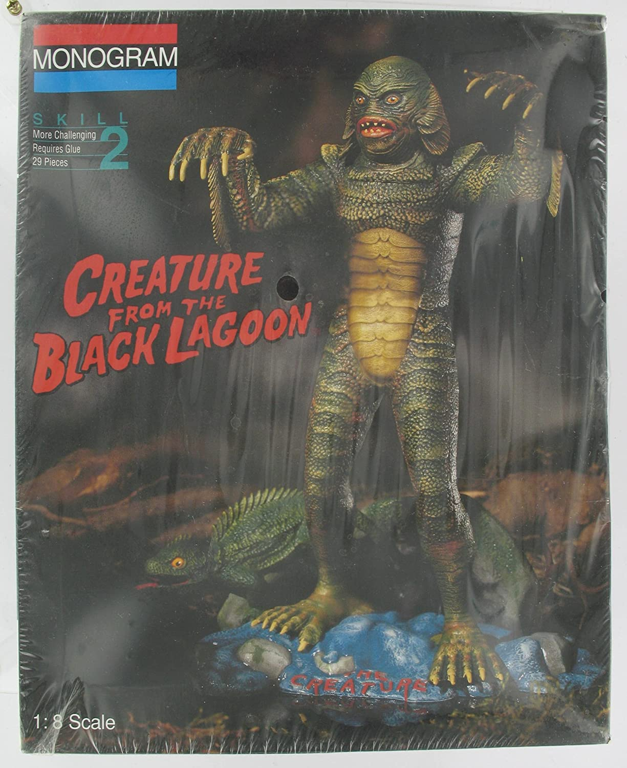 Monogram Creature from the Black Lagoon Model Kit 1//8 scale 6490M0100
