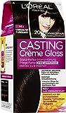 L'Oréal Paris Casting Creme Gloss Glossy Blacks Pflege-Haarfarbe, 200 Schwarzbraun