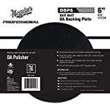 "Meguiar's 6"" DA Backing Plate – Pair With Foam or Microfiber Pads for Dual Action Polishing – DBP6"