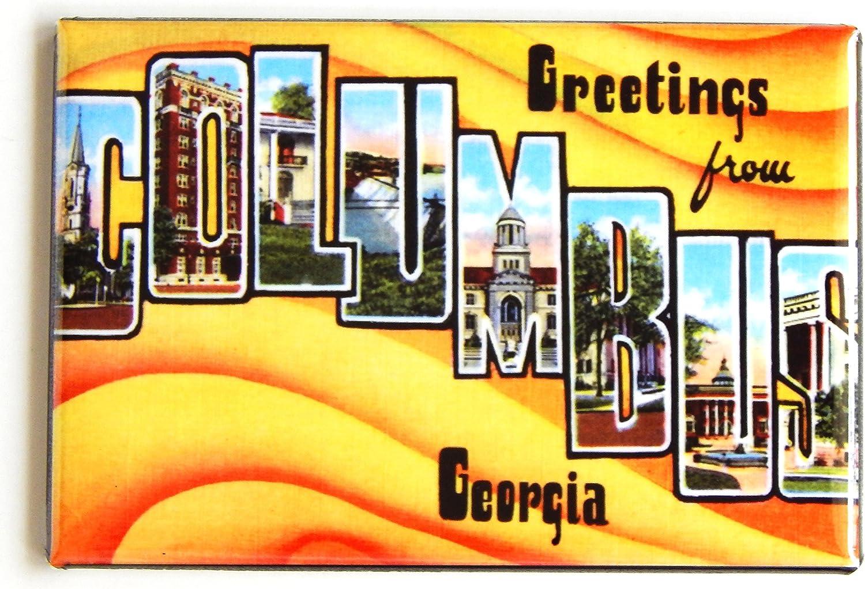 Greetings from Atlanta Georgia Fridge Magnet