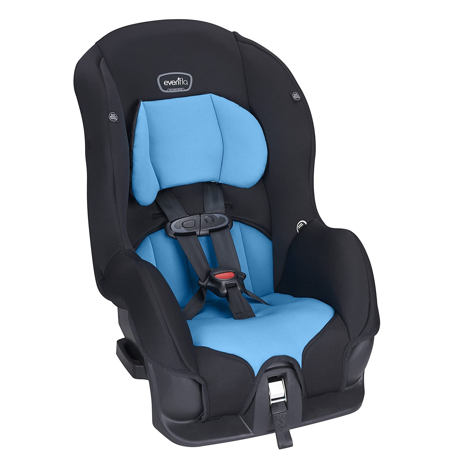 Amazon Evenflo Tribute LX Convertible Car Seat Azure Coast Baby