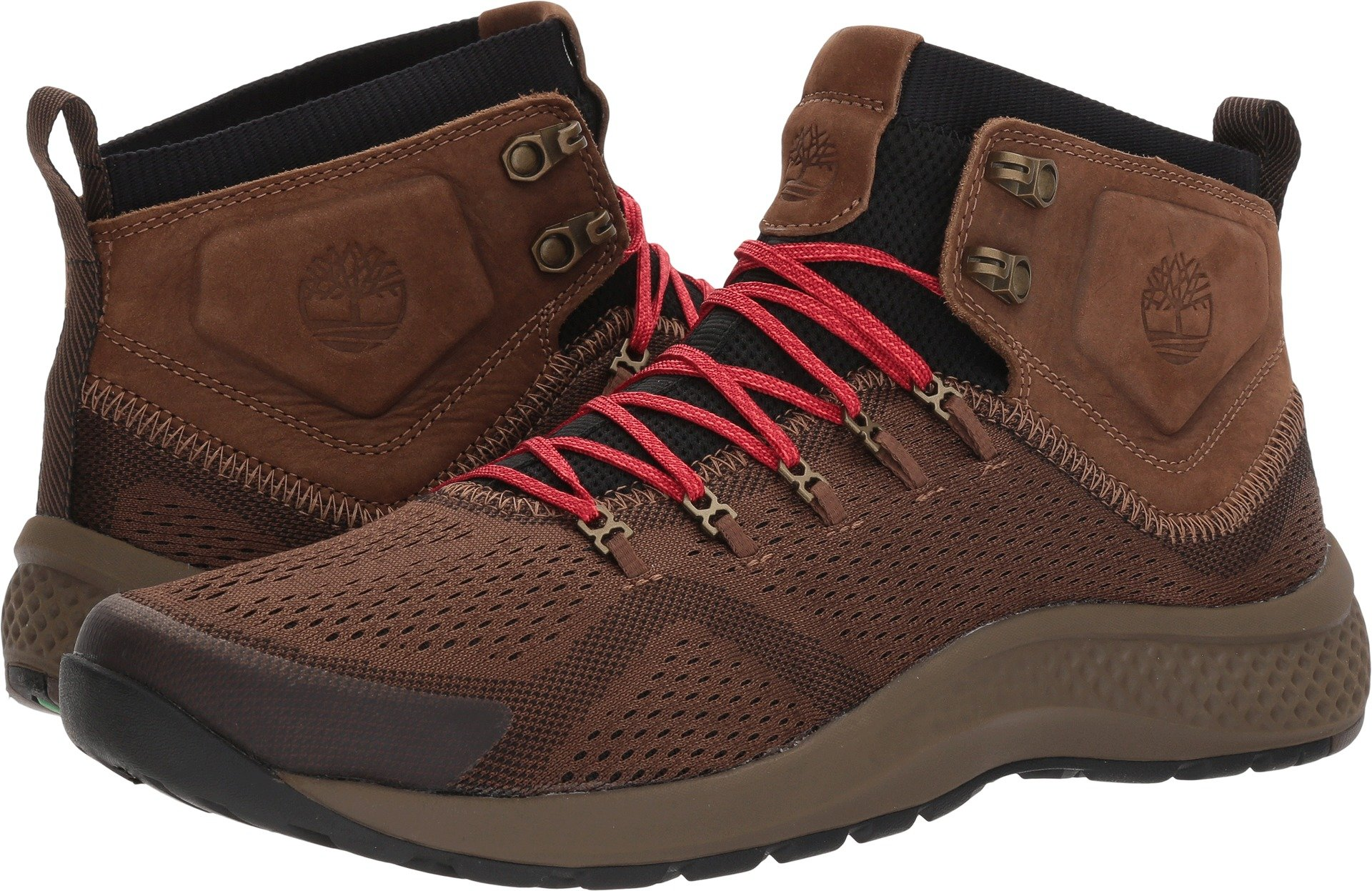 Timberland Mens Fly Roam Trail Mid Trail Sneaker, Dark Brown, 8.5 D(M) US