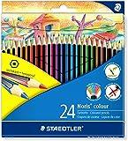 Staedtler 185 C24 Noris Colour Colouring Pencil - Assorted Colours