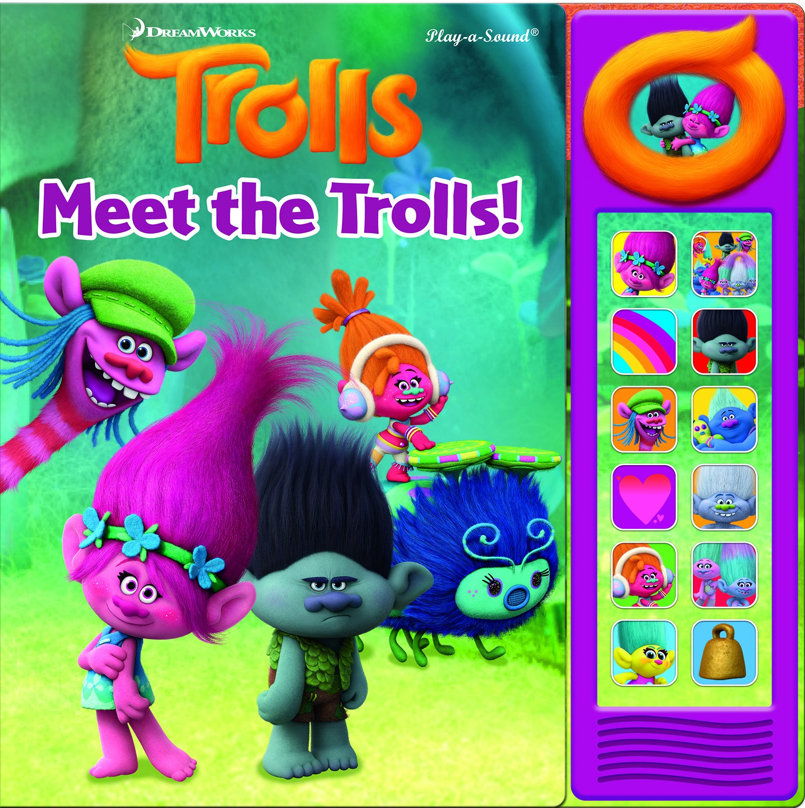 Download DreamWorks Trolls Mini Deluxe Custom Frame Phoenix International Publications 9781503709430 ebook