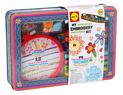 Amazon Alex Toys Craft My Embroidery Kit Toys Games