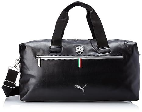 f0ecab4ec3 Puma Ferrari Faux Leather Weekender Bag Black O S  Amazon.ca  Luggage   Bags