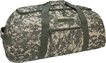 Mercury Tactical Gear Code Alpha Giant Convertible Duffel Bag with Backpack Straps Multicam