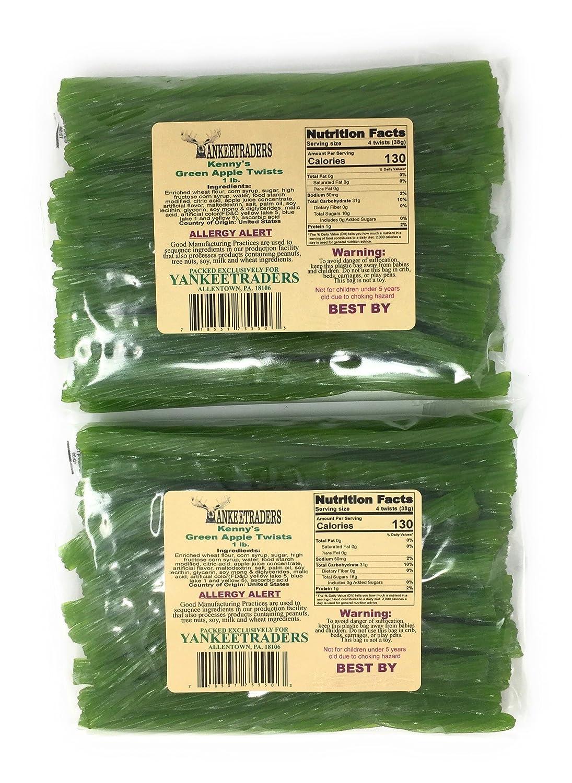 Green Apple Licorice Twists - 2 LBS