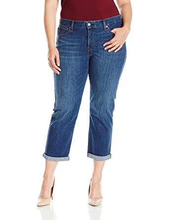 Levi's Women's Plus Size Boyfriend Jean at Amazon Women's Clothing ...