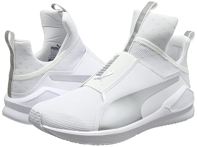 Puma Fierce Core Scarpe Sportive Indoor Donna Bianco White