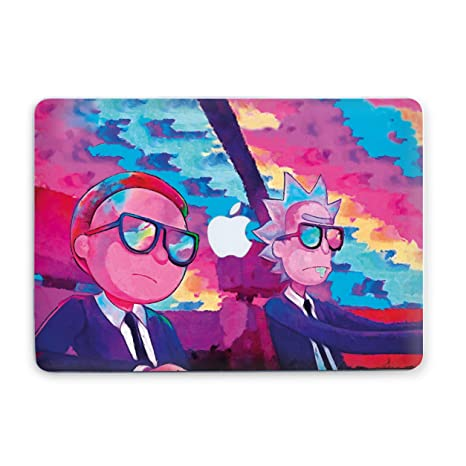 Amazon.com: MacBook Case R and M Rick Sanches Protective ...