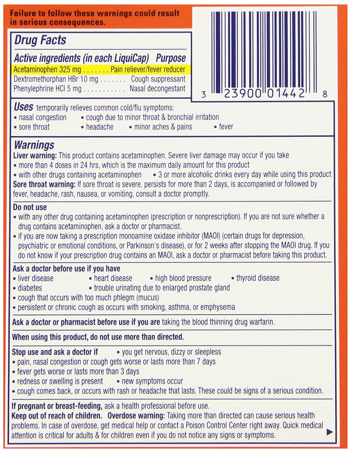 Amazon vicks dayquil cold flu multi symptom relief 16 amazon vicks dayquil cold flu multi symptom relief 16 liquicaps 16 count pack of 24 health personal care geenschuldenfo Images