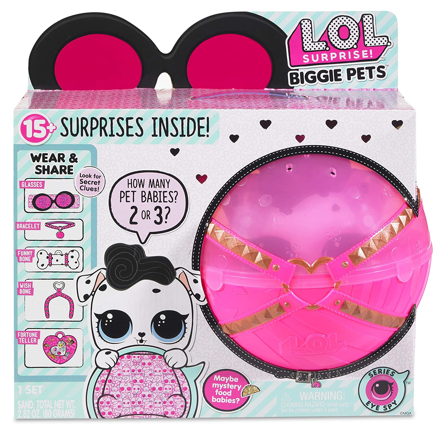 L.O.L. Surprise! Biggie Pet Dollmation 552239
