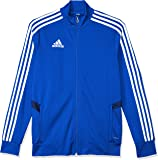 adidas Australia Kids Tiro 19 Training Jacket, Dark Blue/Bold Blue/White