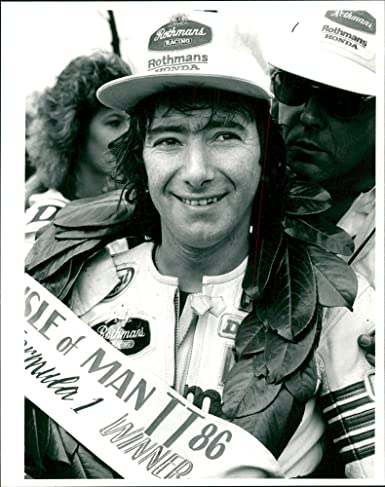 be95ad177d5 Amazon.com  Vintage photo of Joey Dunlop  Entertainment Collectibles