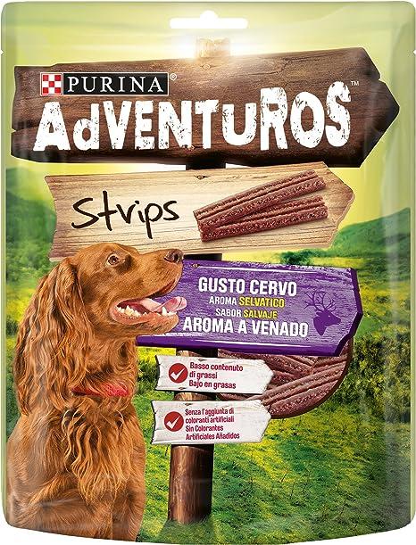 Purina Adventuros Strips golosinas y chuches naturales para perros ...