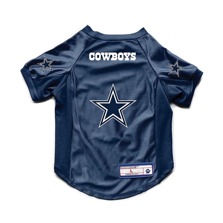NFL Dallas Cowboys Pet Stretch Jersey Large