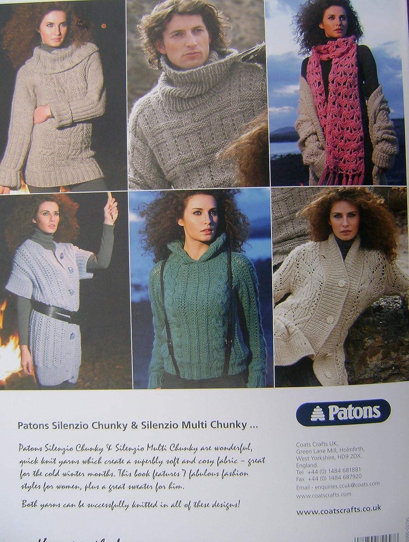 Patons libro de patrones para tejer 3795 - 7 diseños en Chunky ...