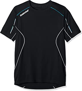 38244c55970d Babolat Boys Performance V-Neck Tee Junior 128: Amazon.co.uk: Sports ...