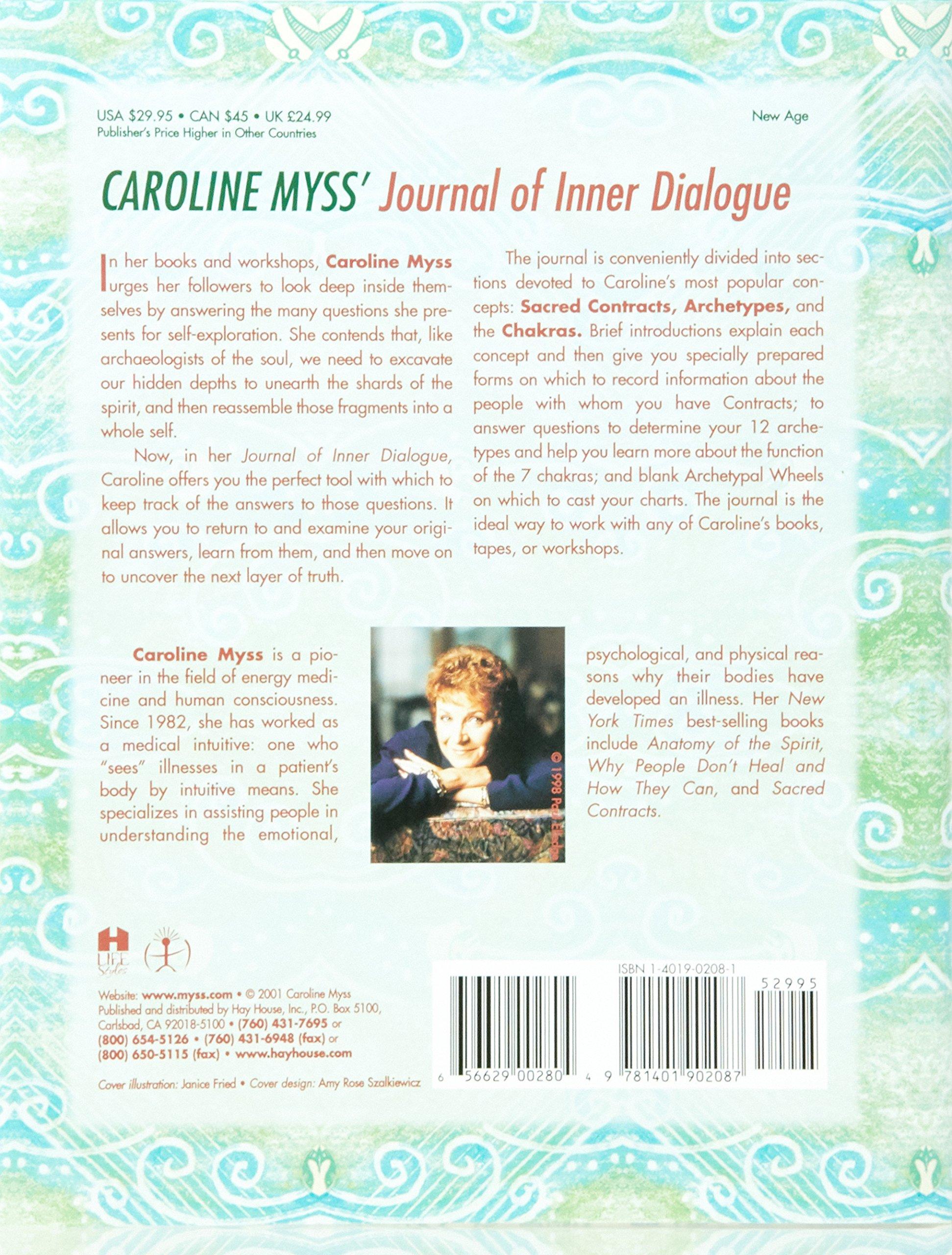 Caroline Myss\'s Journal of Inner Dialogue (Journals): Caroline Myss ...